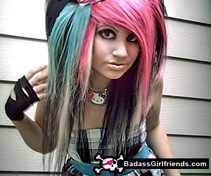 Emo girls with piercings